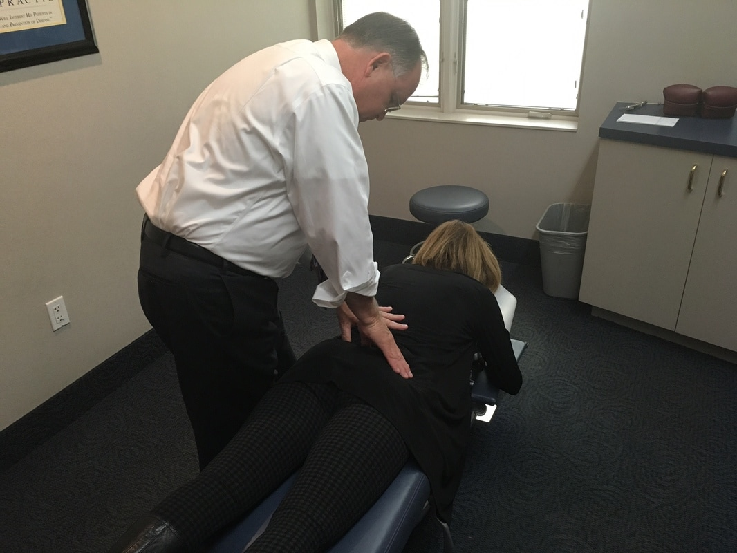 spinal adjustment by a local chiropractor in Rockville, MD